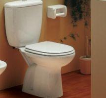 Aveiro W/D Close-coupled WC w/ fixing kit