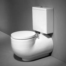 WCA F/D toilet w/ cistern