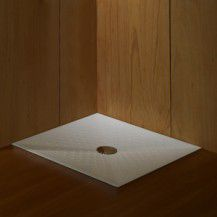 Moraira 90x90x6 countertop shower tray
