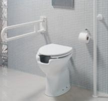 WC Care low level wc pan p-trap