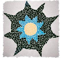 Clinker Mosaic Anémona