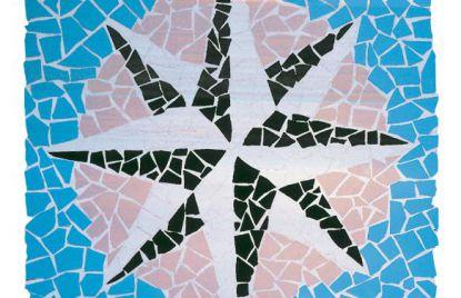Clinker Mosaic Rosa de los Vientos