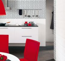 Kitchenceramic tiles
