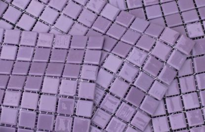 Ceramic tiles backsplash