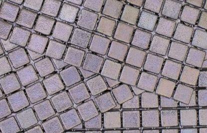 Mosaic METALICO PLATA