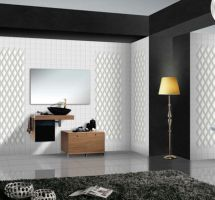 Decorative wall tales – rhombus