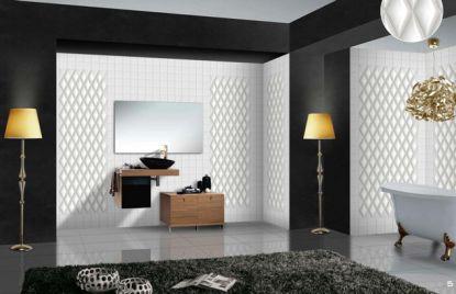 Decorative wall tales – rhombus