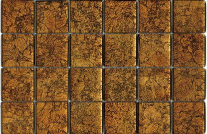Crystal mosaic gold