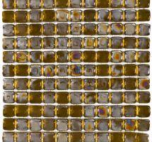 Crystal mosaic brown