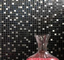 Mosaic crystal metal