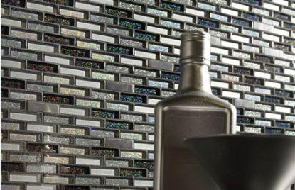 Mosaic crystal inox