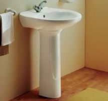 Wash basin with pedestal Aveiro