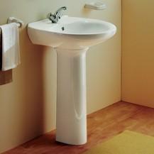 Wash basin with pedestal Aveiro